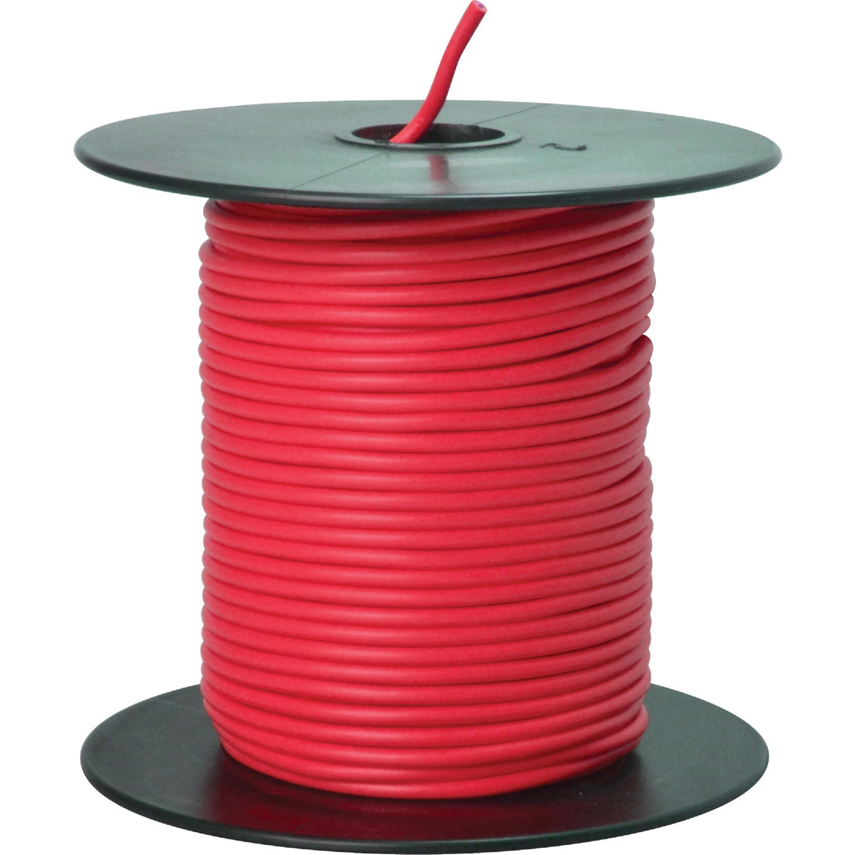 100' 18GA RED AUTO WIRE - 18-100-16 by Woods Wire Coleman