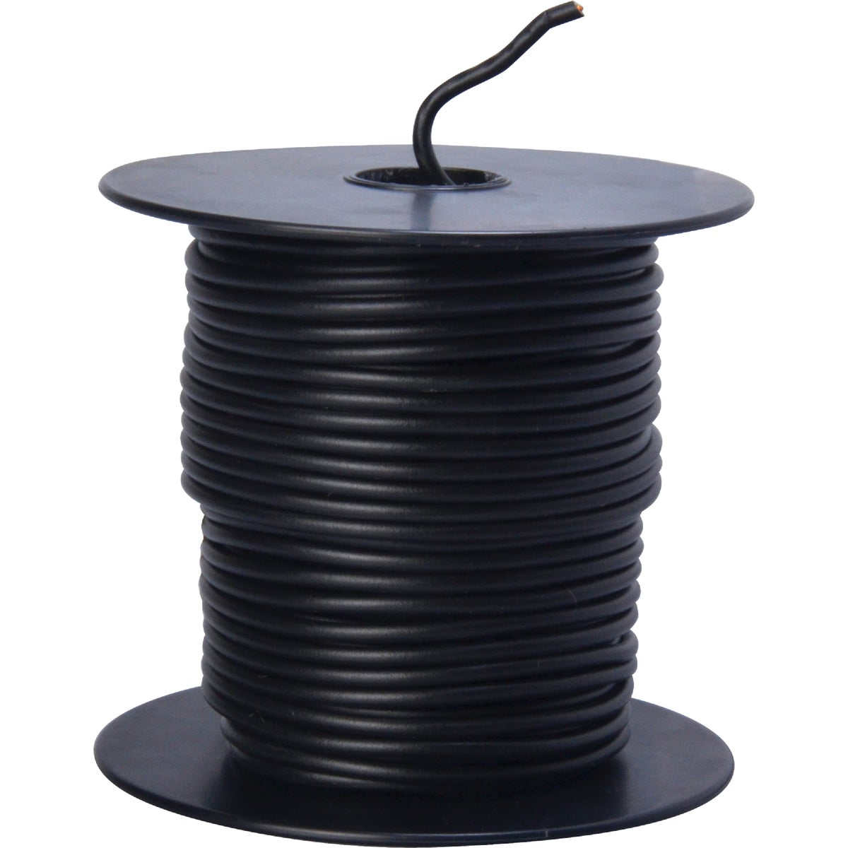 100' 16GA BLK AUTO WIRE - 16-100-11 by Woods Wire Coleman