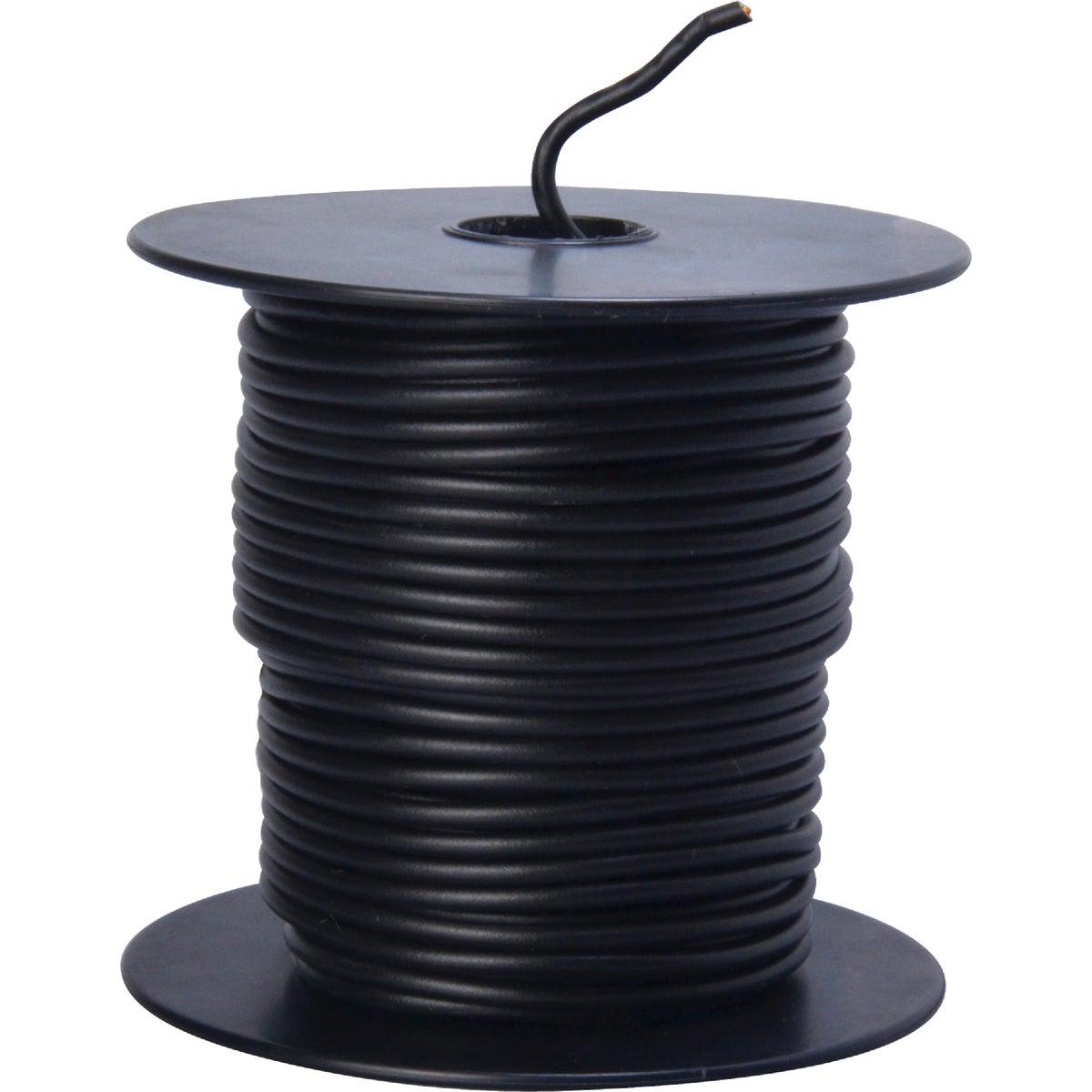 100' 16Ga Blk Auto Wire