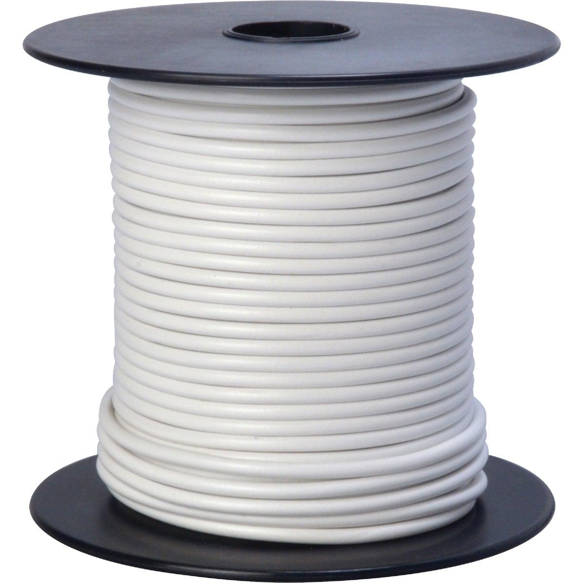 100' 16Ga Wht Auto Wire