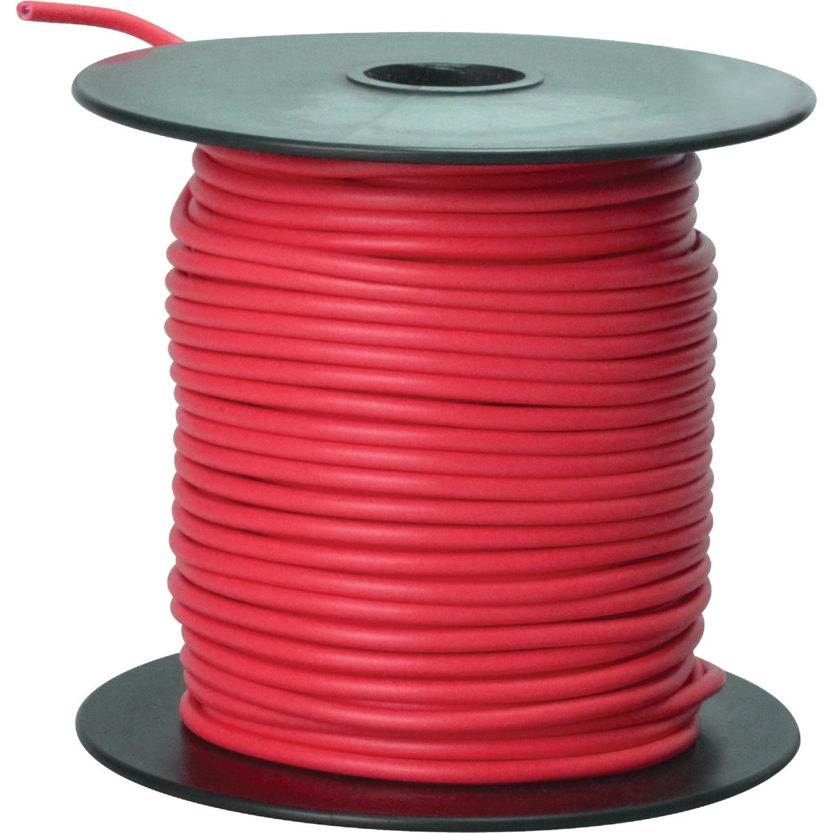 100' 16GA RED AUTO WIRE - 16-100-16 by Woods Wire Coleman