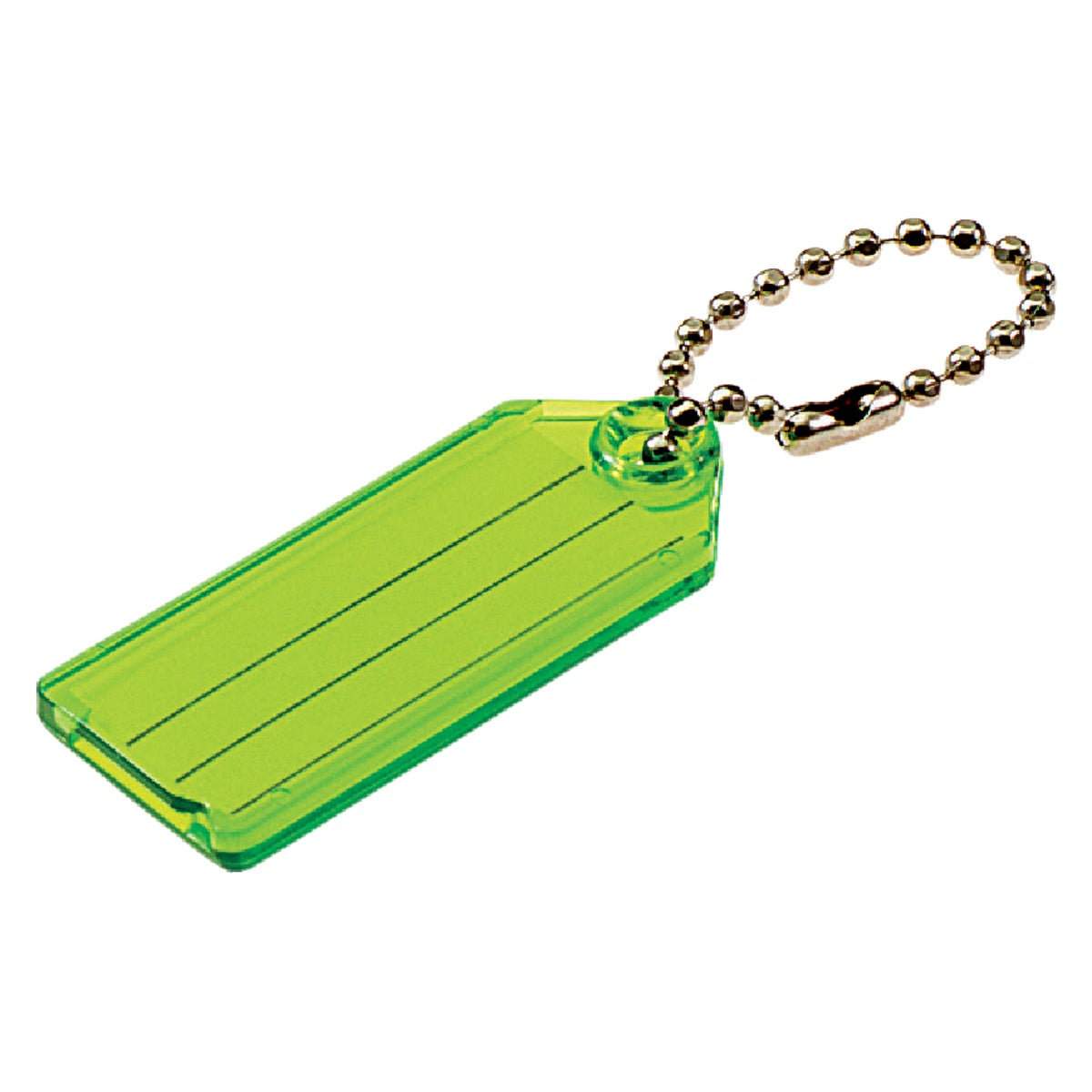 2PK ID KEY TAG W/CHAIN - 10102 by Lucky Line Prod Inc