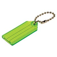 2Pk Id Key Tag W/Chain