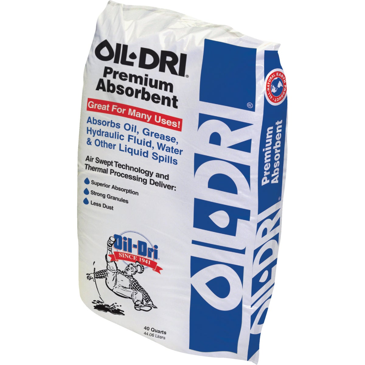 50LB OIL DRI ABSORBENT