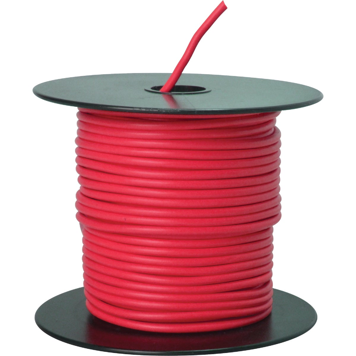 100' 14GA RED AUTO WIRE - 14-100-16 by Woods Wire Coleman