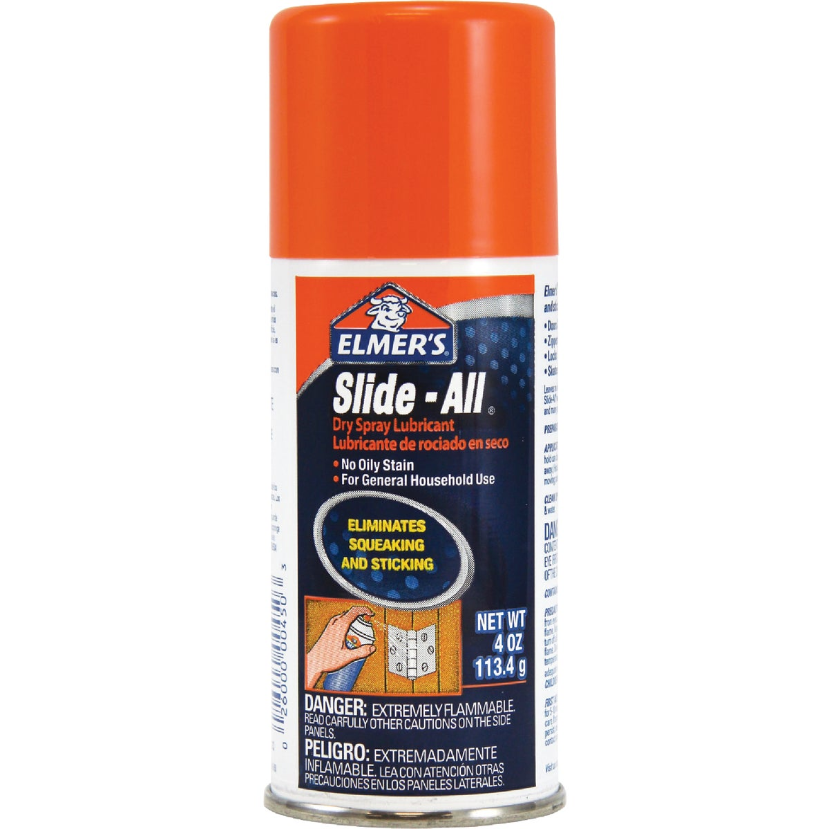 4OZ SPRAY LUBRICANT - E450 by Elmers Products Inc