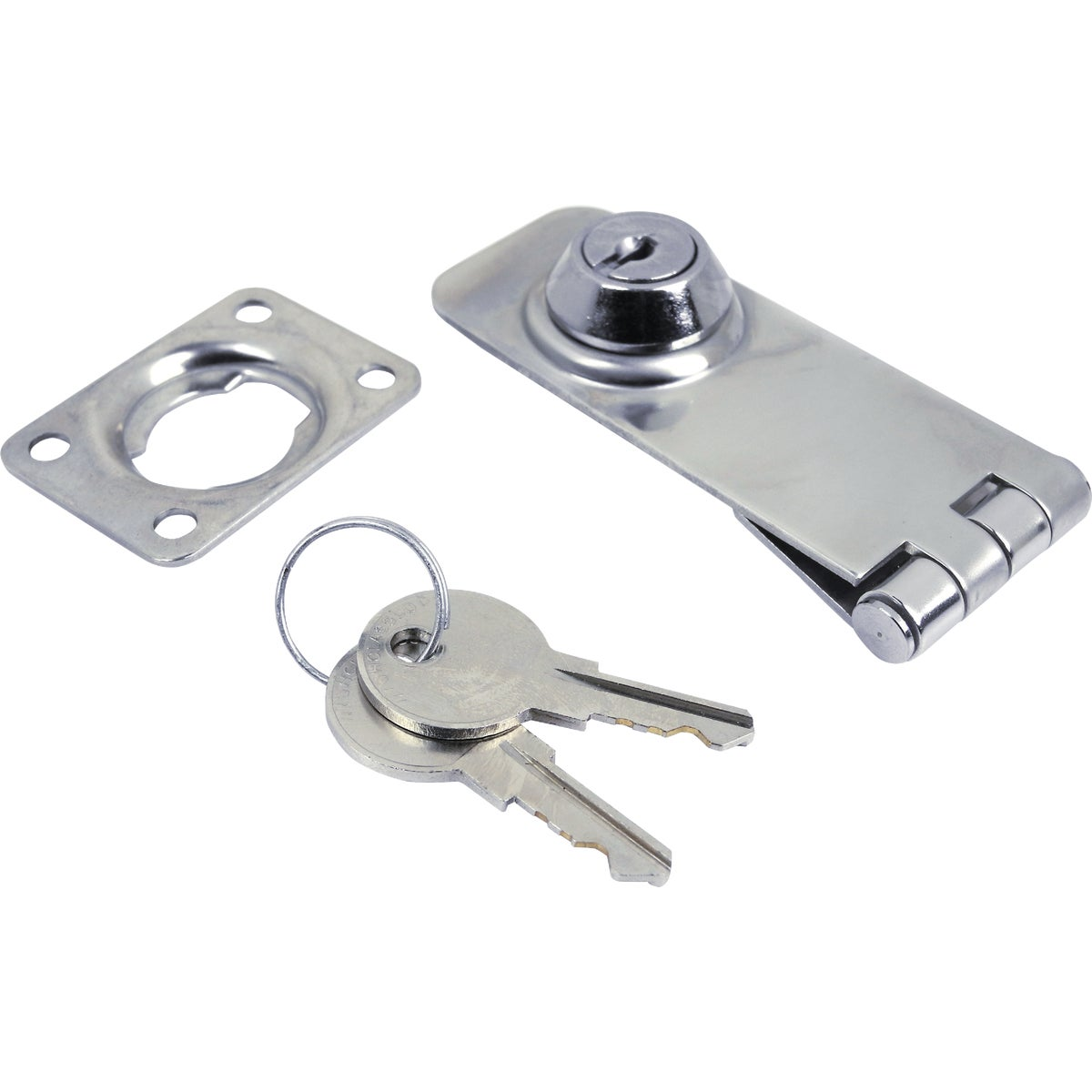 1-1/8X3 SS LOCKABLE HASP - 37031 by Seachoice Prod