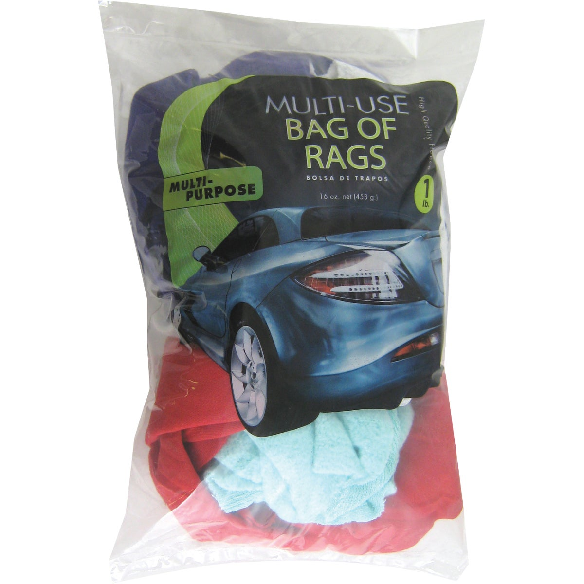 Intex Supply Co. 16OZ BAG CLEANING RAGS W28801-12DG
