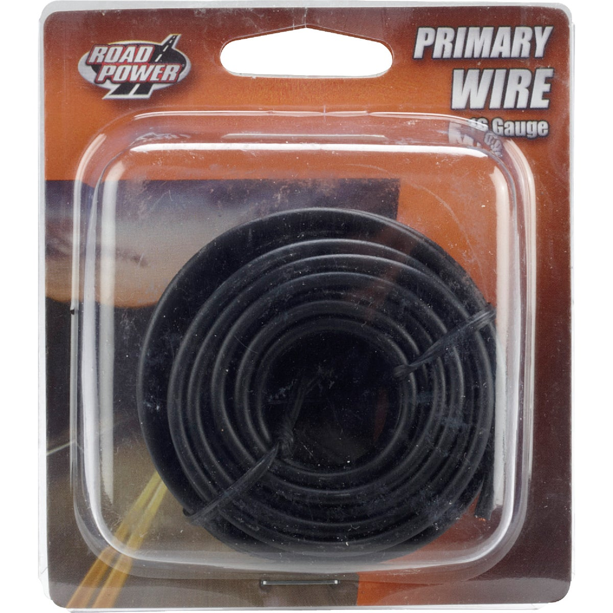 24' 16GA BLK AUTO WIRE - 16-1-11 by Woods Wire Coleman