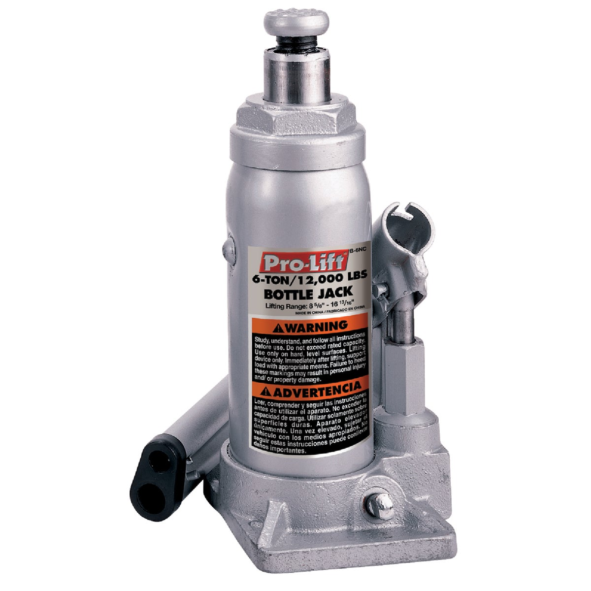 6TON HYDRLC BOTTLE JACK - B-006D by Shinn Fu Co/ Direct