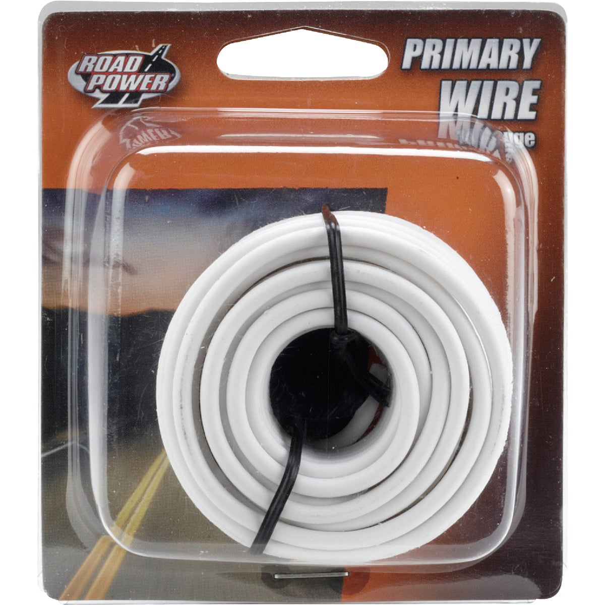 17' 14GA WHT AUTO WIRE - 14-1-17 by Woods Wire Coleman