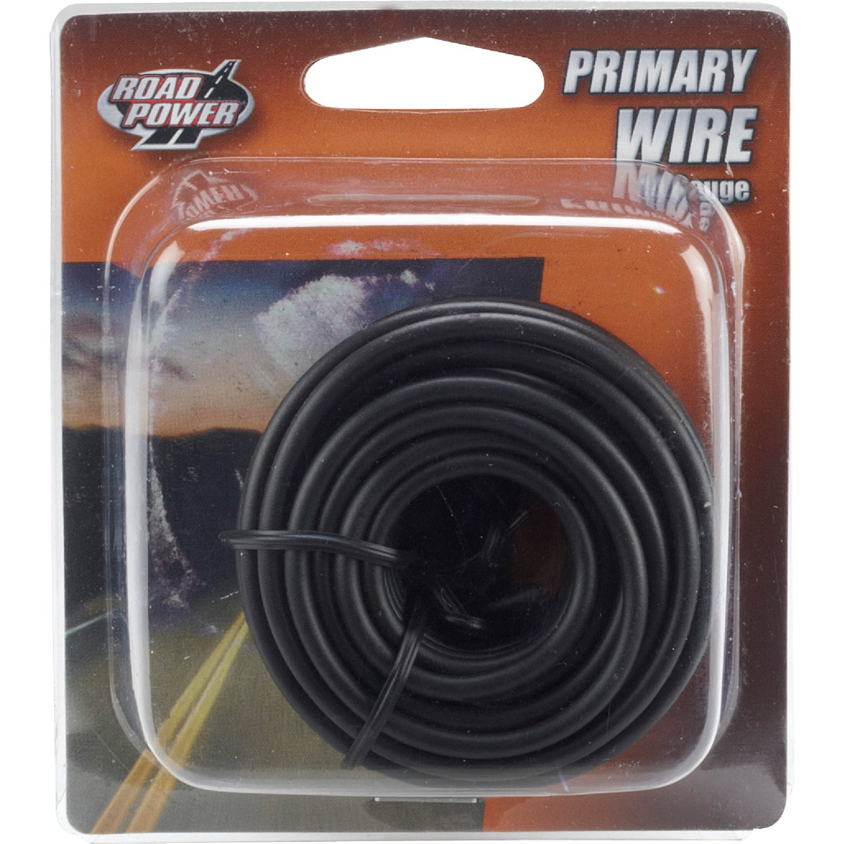 17' 14GA BLK AUTO WIRE - 14-1-11 by Woods Wire Coleman