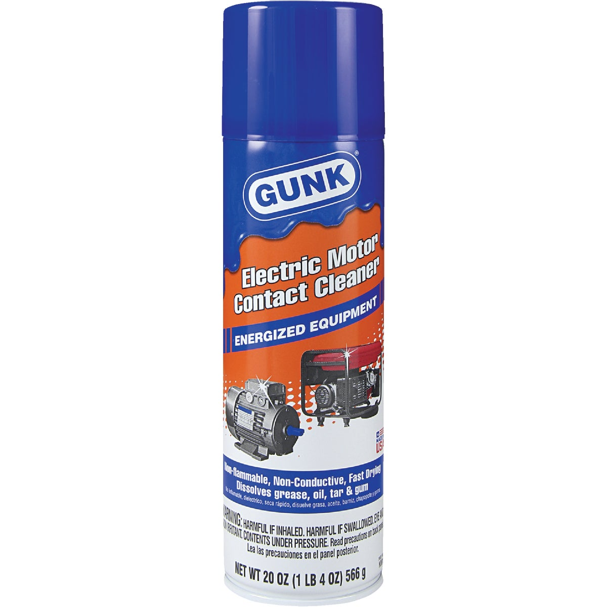MOTOR/CONTACT CLEANER