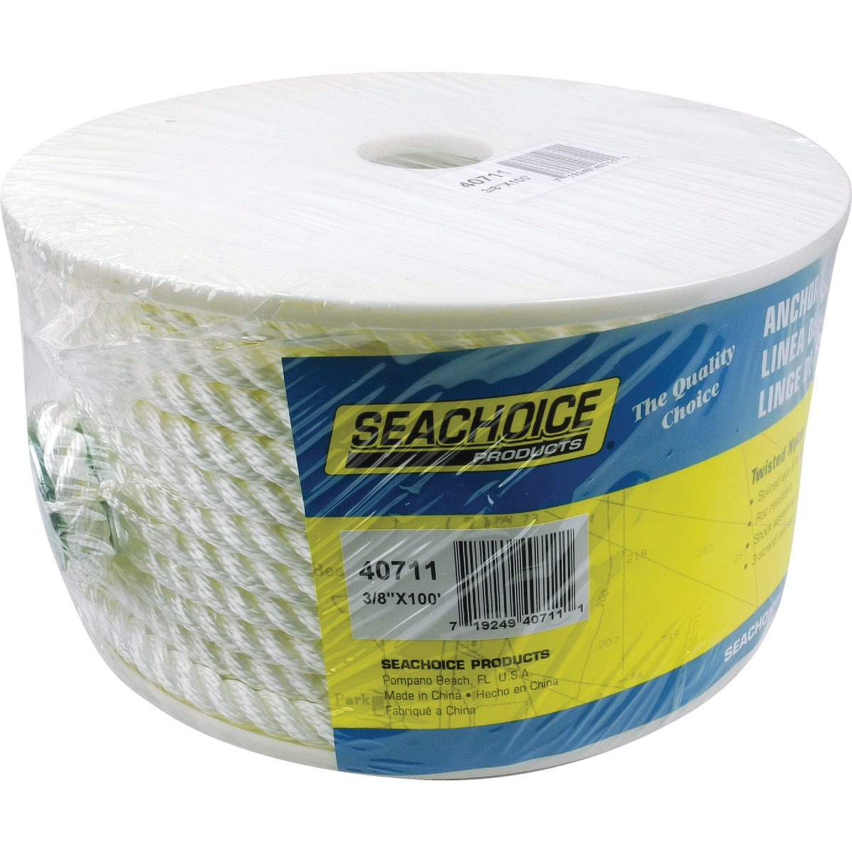 100' NYLON ANCHOR LINE - 40711 by Seachoice Prod