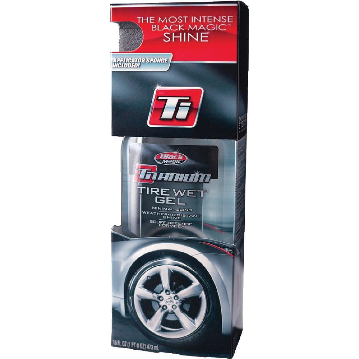 16OZ BLK MAG TIRE SHINE - 5072647 by Itw Global Brands