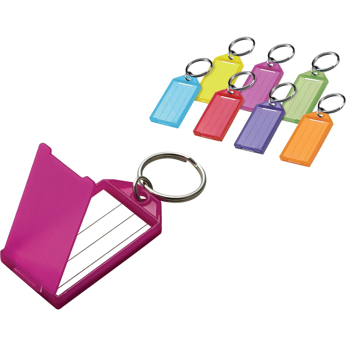 Lucky Line ID KEY TAG W/RING 60502