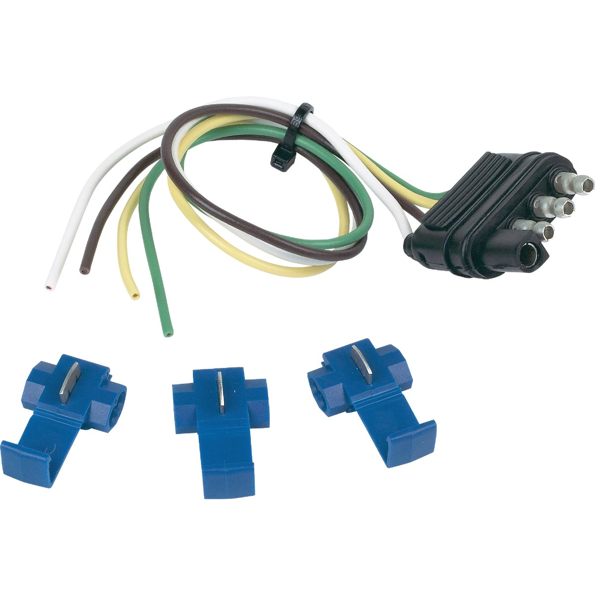 "12"" EXT FLAT WIRE KIT - 48105 by Hopkins Mfg Corp"