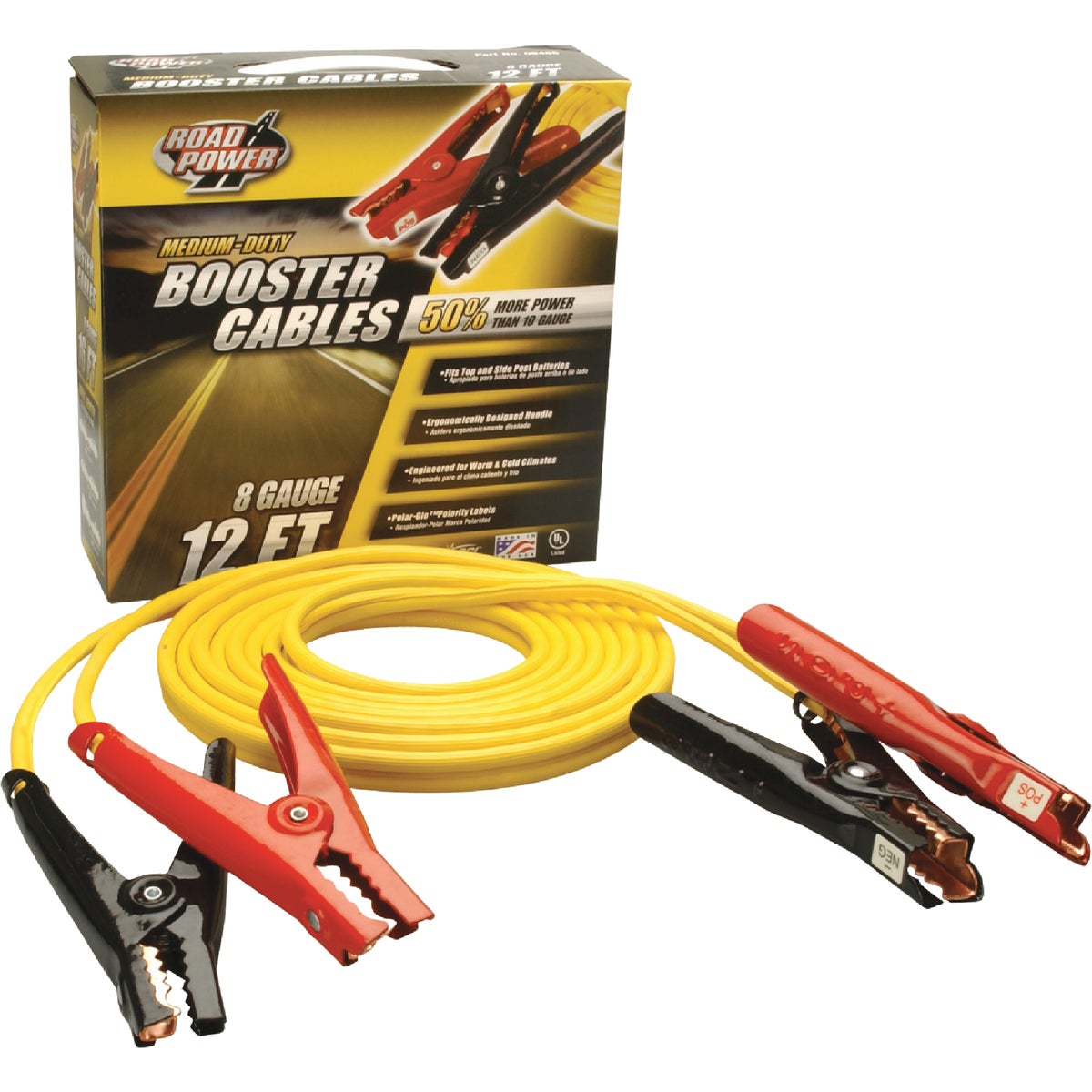 ROAD POWER Medium-Duty Booster Cable, 08471-88-02