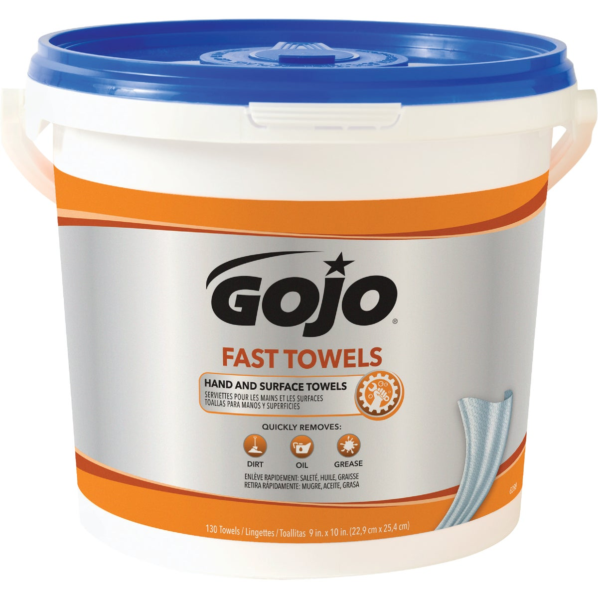 130CT HAND CLEANER WIPE - 6298-04 by Go Jo Industries