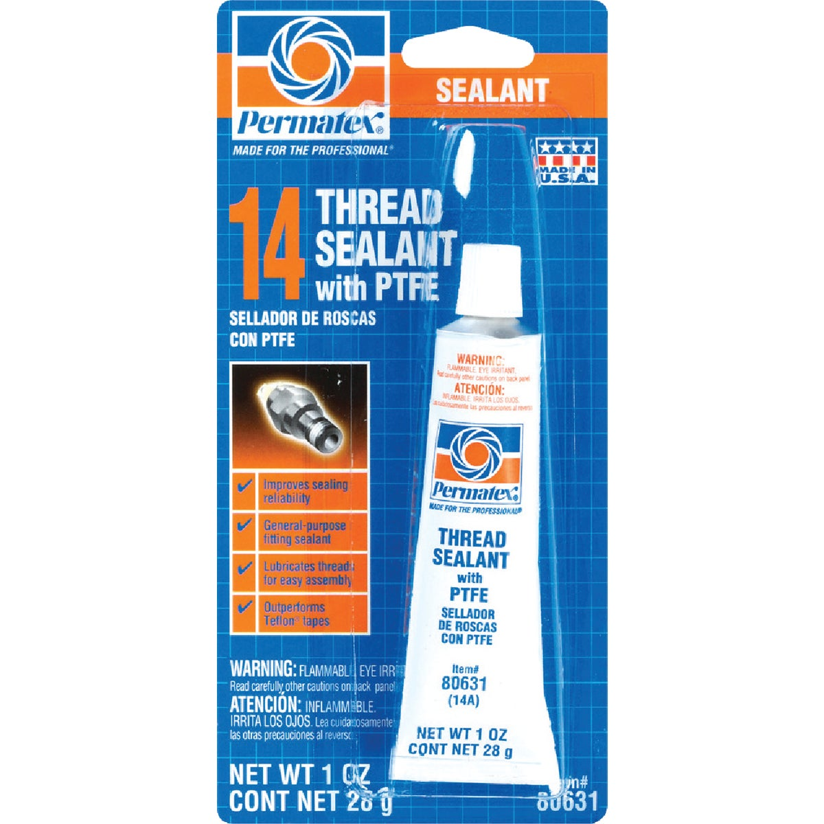 1OZ THREAD SEALANT - 80631 by Permatex Inc