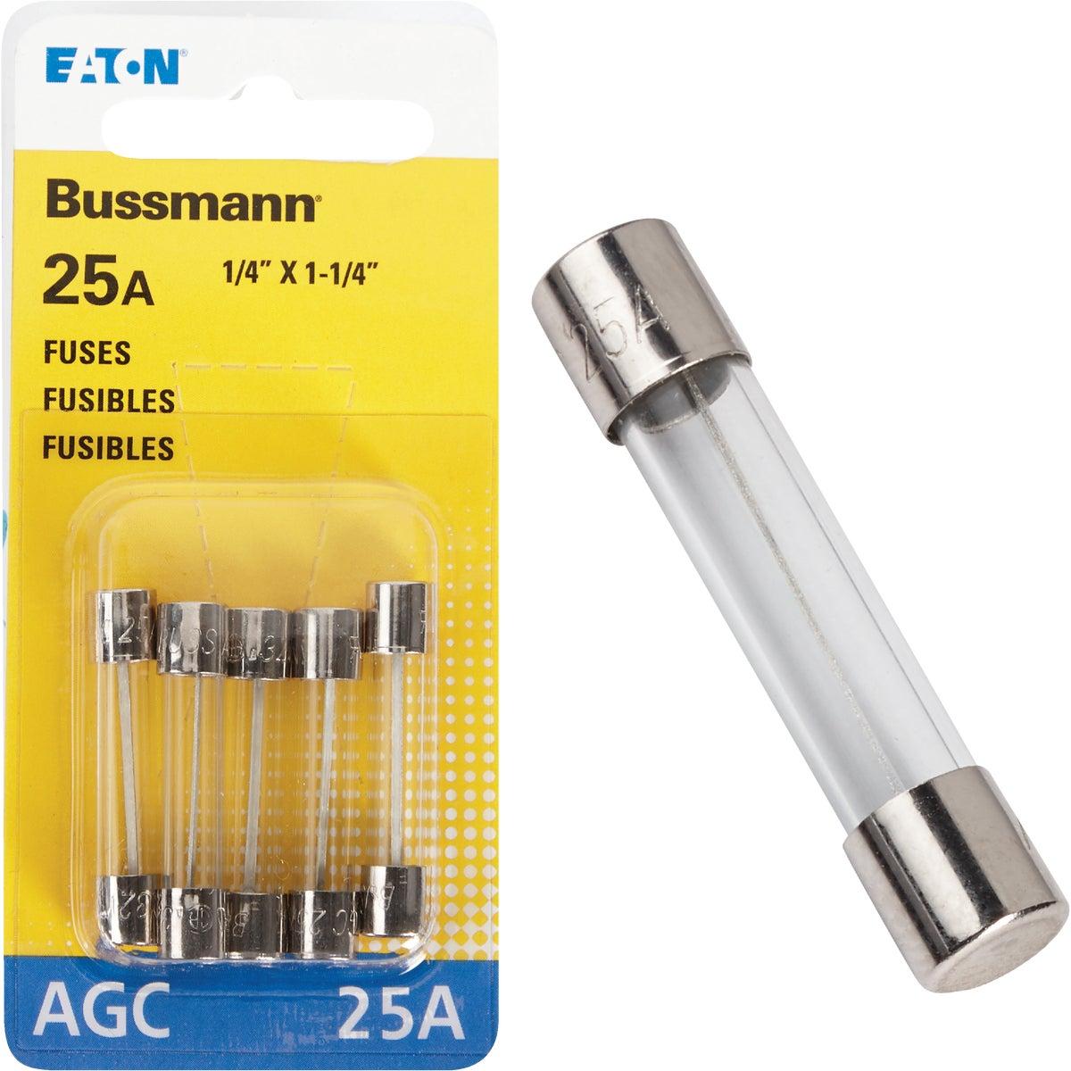 25AMP FUSE - BP/AGC-25-RP by Bussmann Cooper