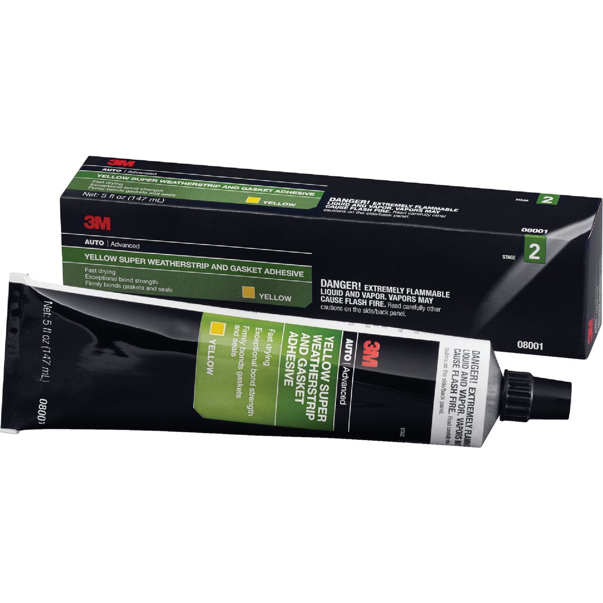 WEATHERSTRIP ADHESIVE - 08001 by 3m Co