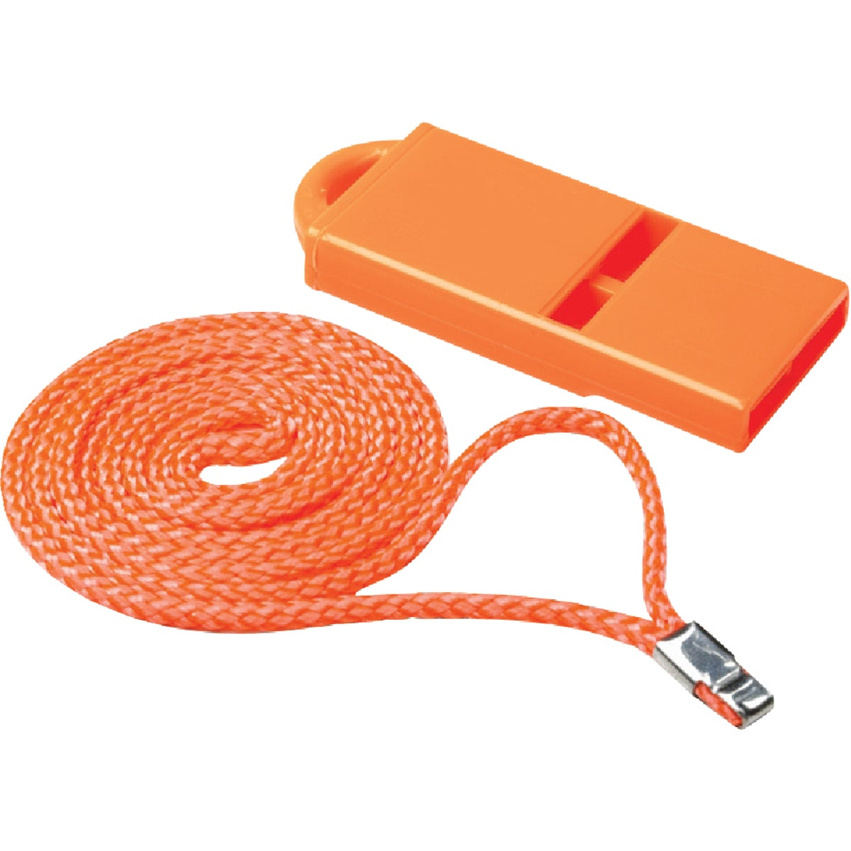 ORANGE PLASTIC WHISTLE
