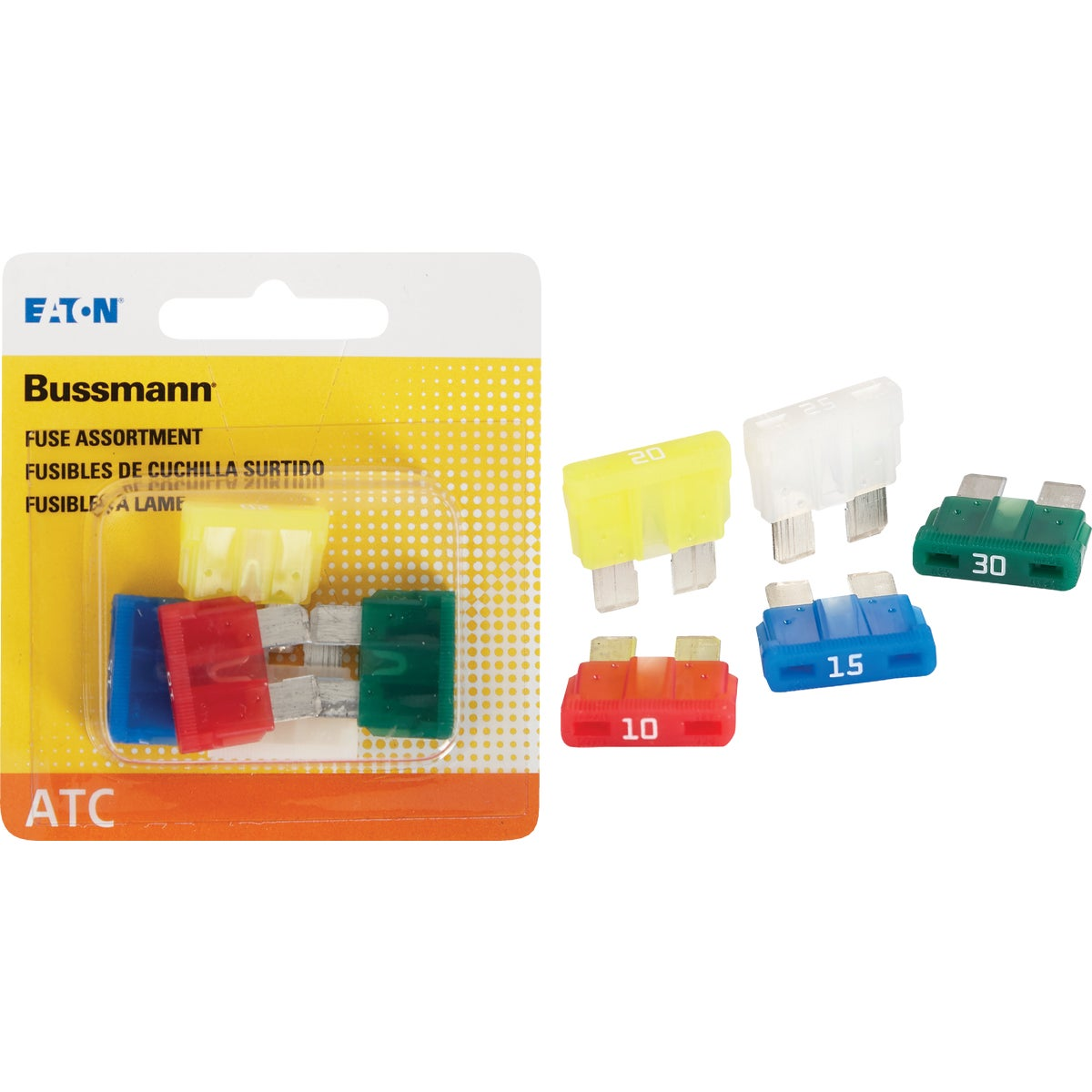 5PK FUSE ASSORTMENT - BP/ATC-A5-RP by Bussmann Cooper