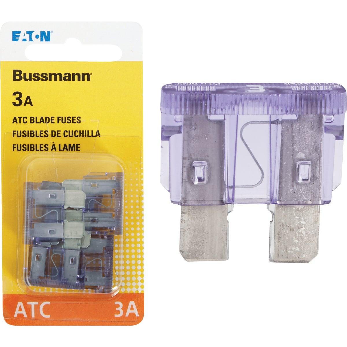3AMP FUSE - BP/ATC-3-RP by Bussmann Cooper