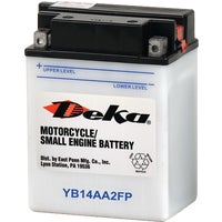 Deka Powersport Battery, YB14AA2FP