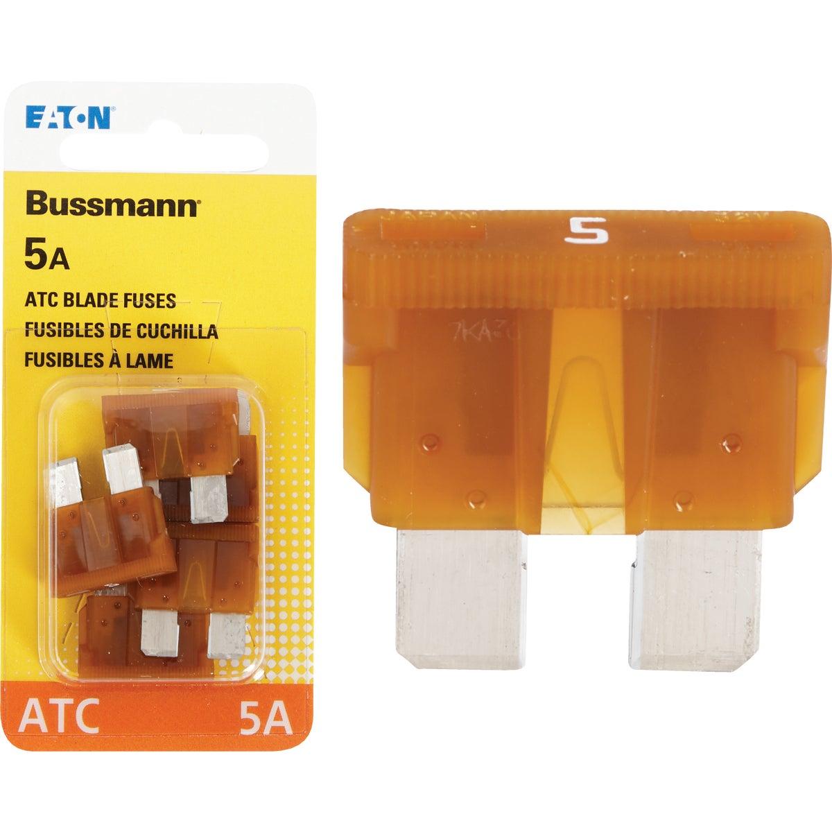 5AMP FUSE - BP/ATC-5-RP by Bussmann Cooper