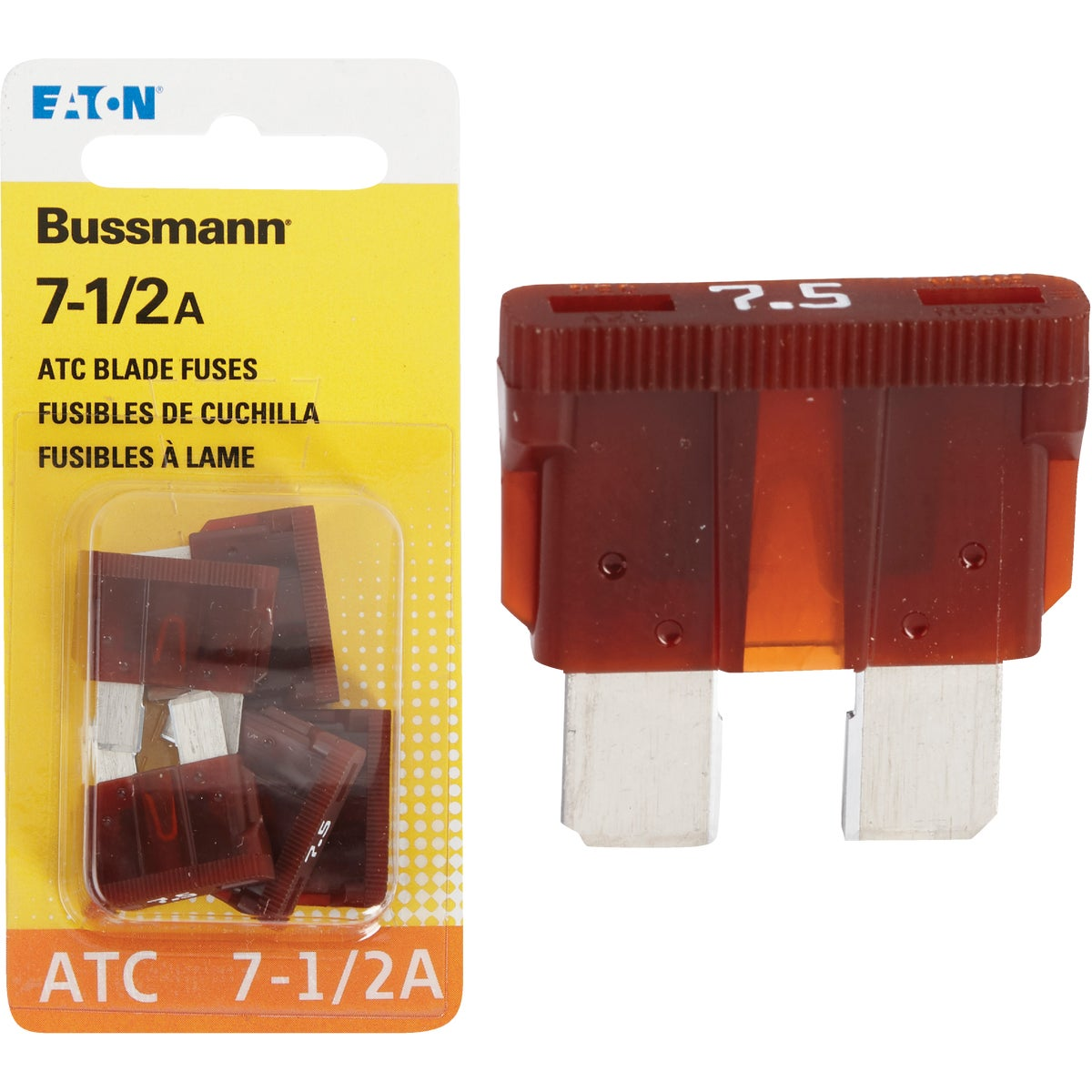 7-1/2AMP FUSE - BP/ATC-7-1/2-RP by Bussmann Cooper