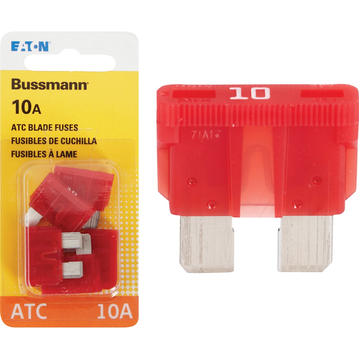 10AMP FUSE - BP/ATC-10-RP by Bussmann Cooper