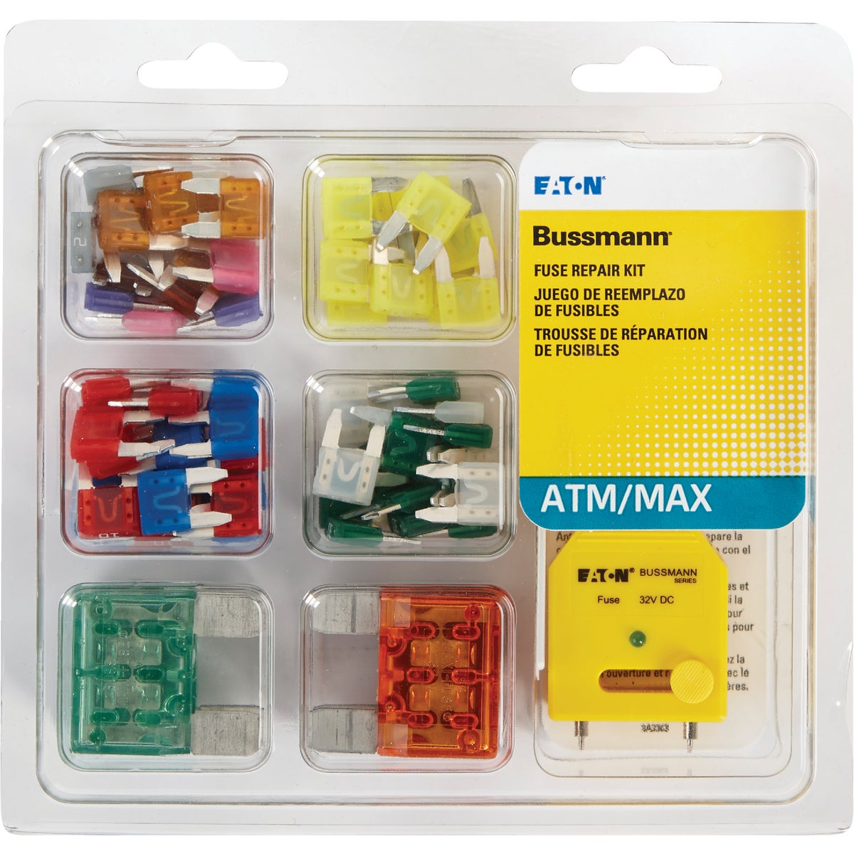 64PC KIT ATM/MAX FUSE - NO.64 by Bussmann Cooper