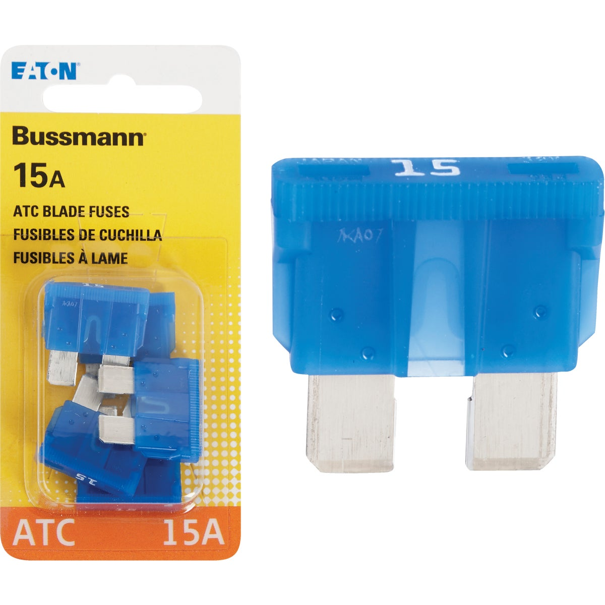 15AMP FUSE - BP/ATC-15-RP by Bussmann Cooper