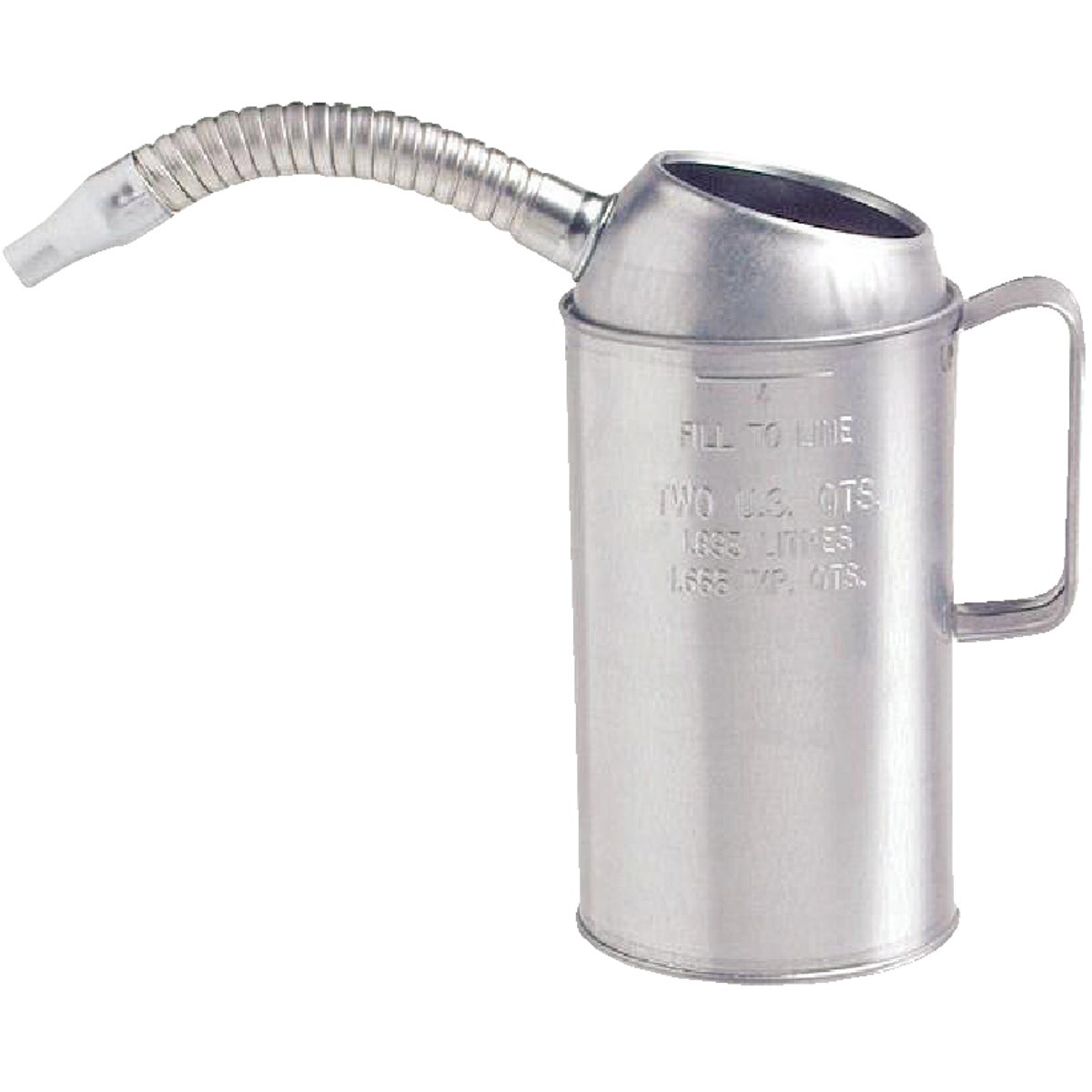 2QT GALVANIZED MEASURE