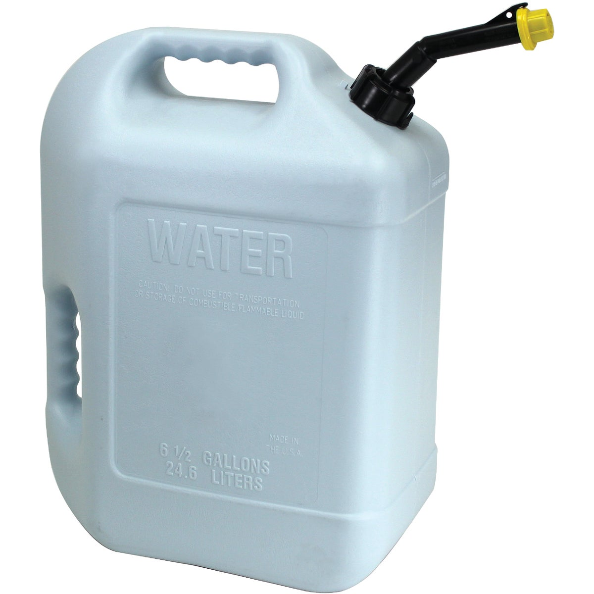 6GAL PLASTIC WATER CAN - 50863MI by Hopkins Mfg Corp