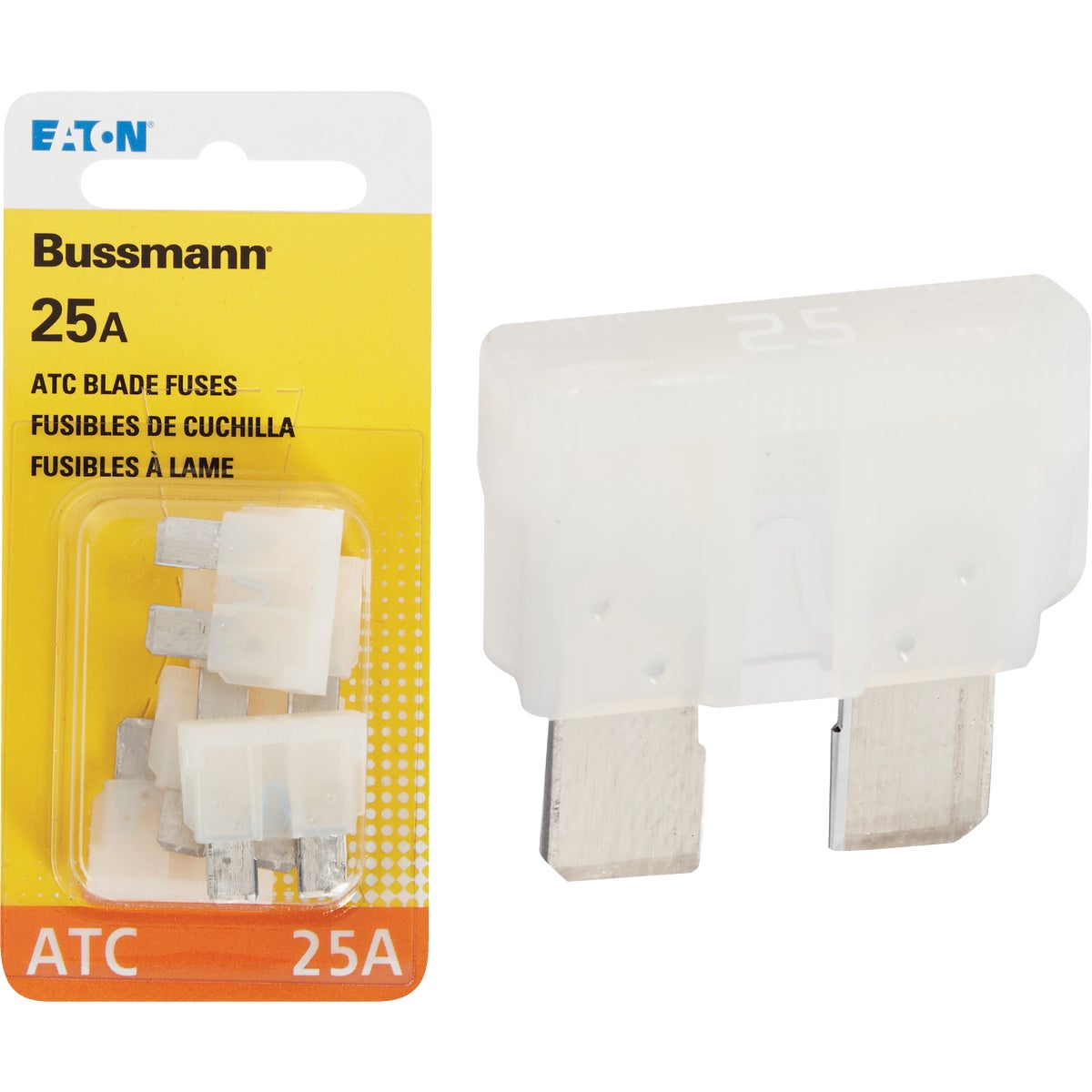 25AMP FUSE - BP/ATC-25-RP by Bussmann Cooper