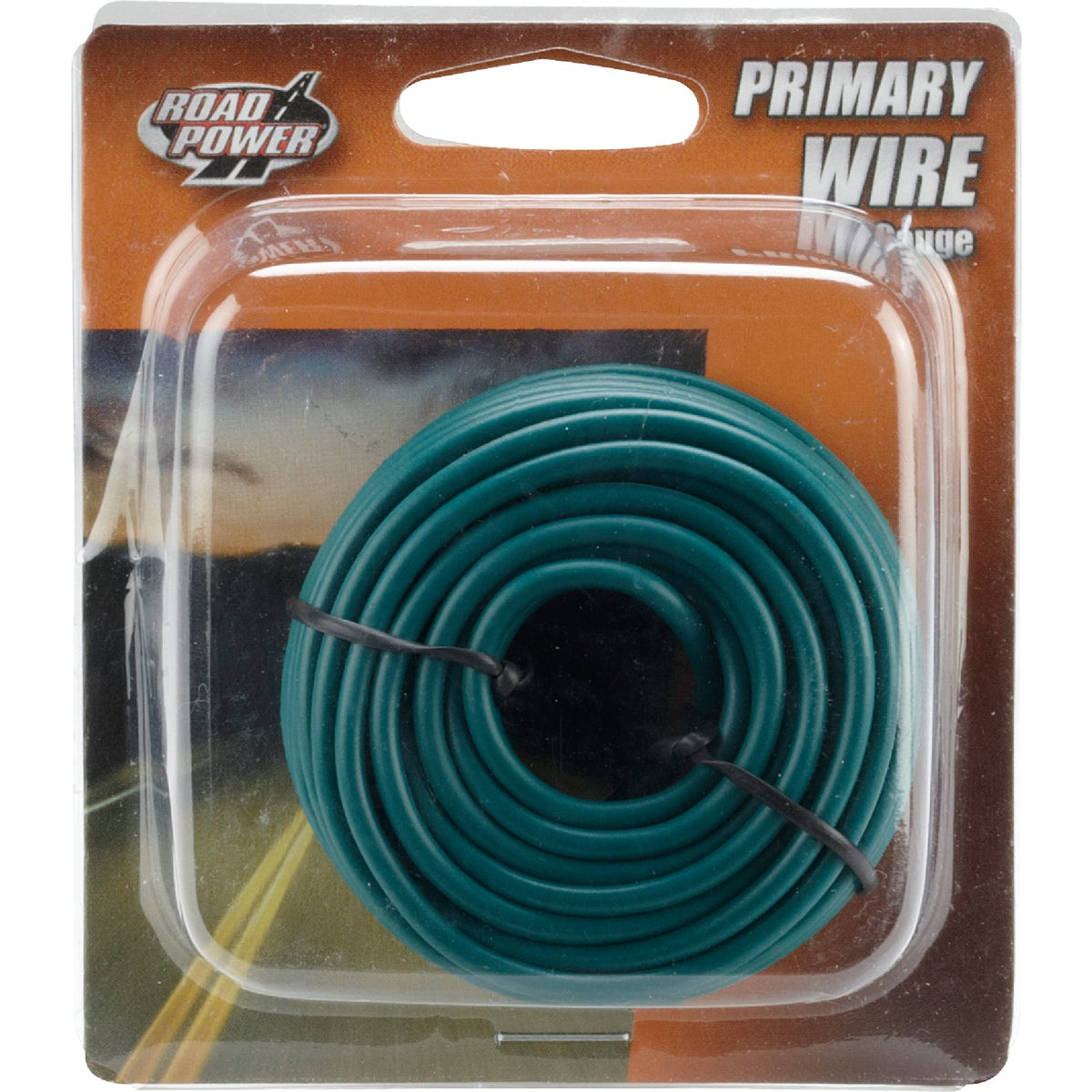 24' 16GA GRN AUTO WIRE - 16-1-15 by Woods Wire Coleman