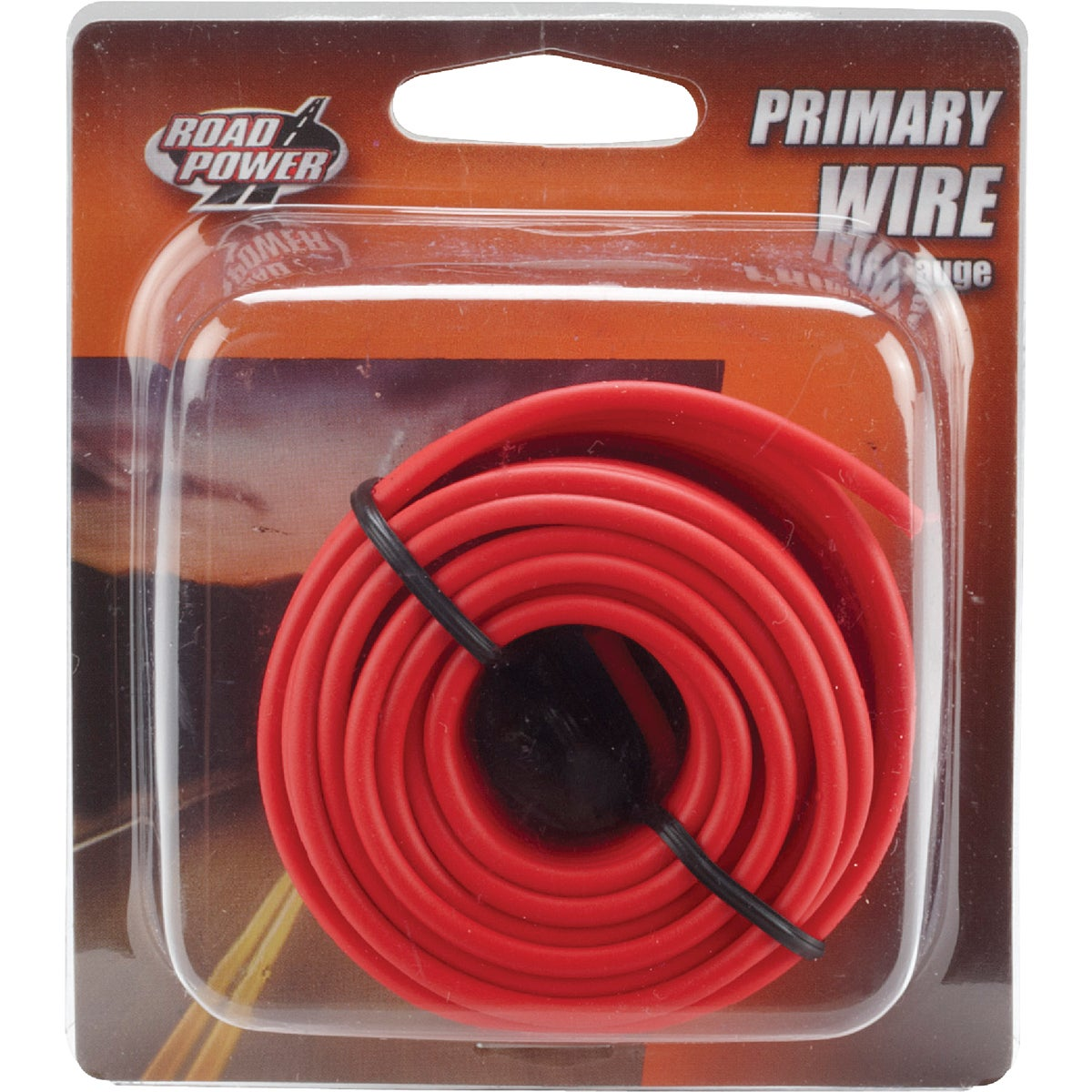 24' 16GA RED AUTO WIRE - 16-1-16 by Woods Wire Coleman