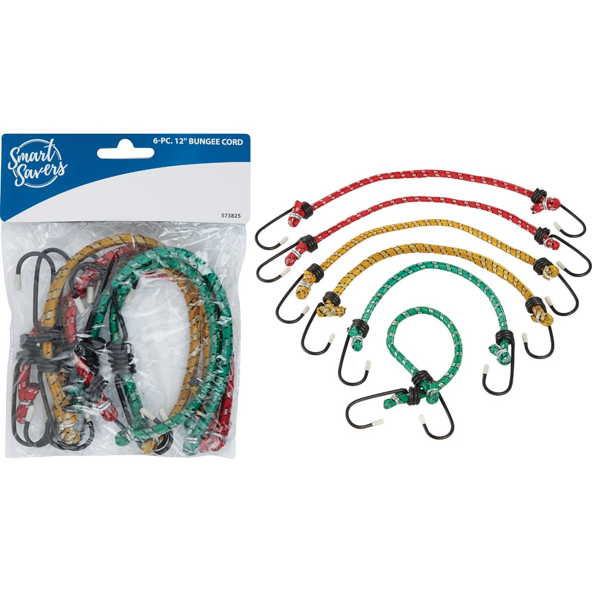 "6PC 12"" BUNGEE CORD - CC101085 by Do it Best"