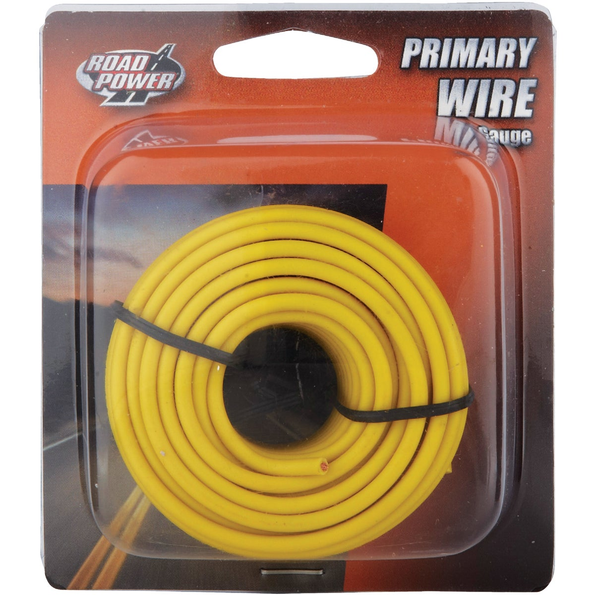 24' 16GA YEL AUTO WIRE - 16-1-14 by Woods Wire Coleman