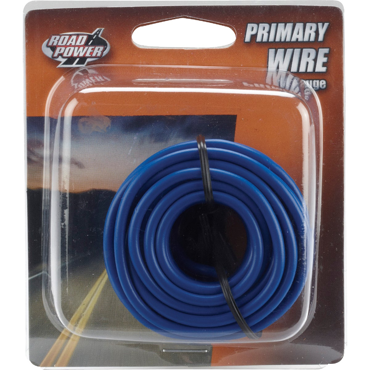 17' 14GA BLUE AUTO WIRE - 14-1-12 by Woods Wire Coleman