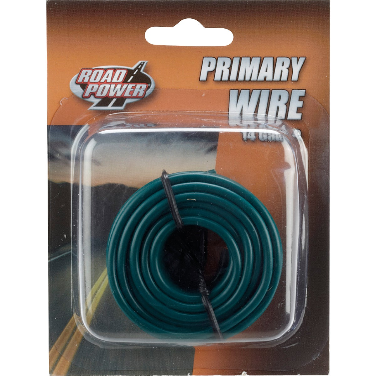 17' 14GA GRN AUTO WIRE - 14-1-15 by Woods Wire Coleman