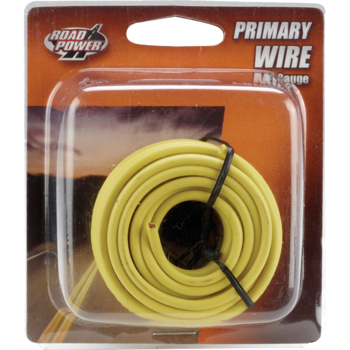 17' 14GA YEL AUTO WIRE - 14-1-14 by Woods Wire Coleman