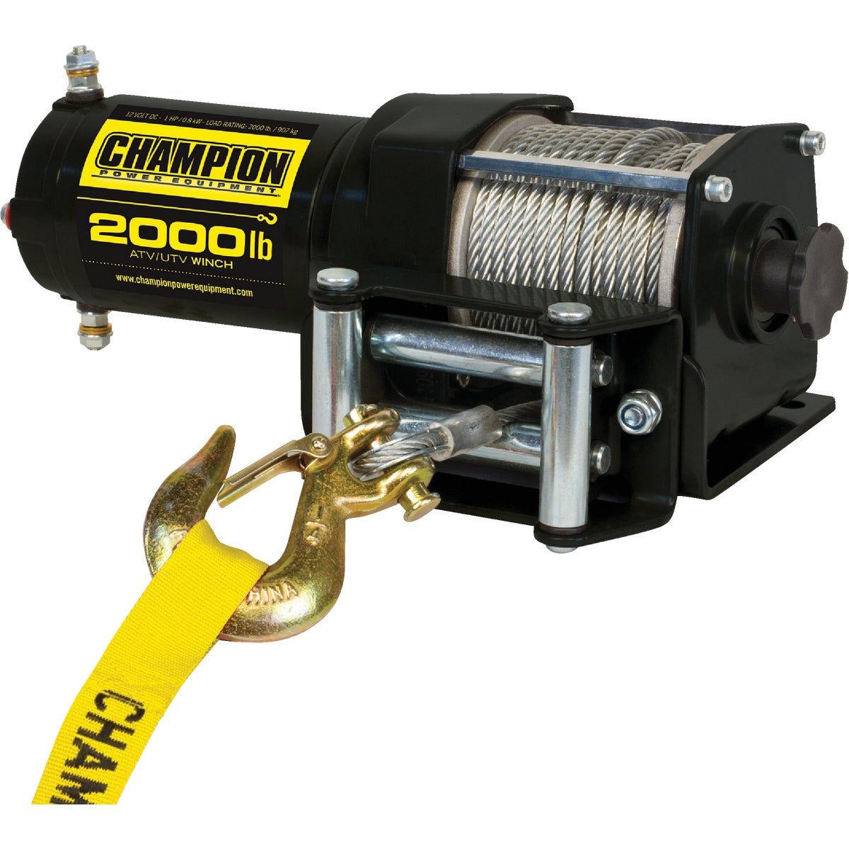 12V DC 1700LB WINCH - 91700 by Warn Industries
