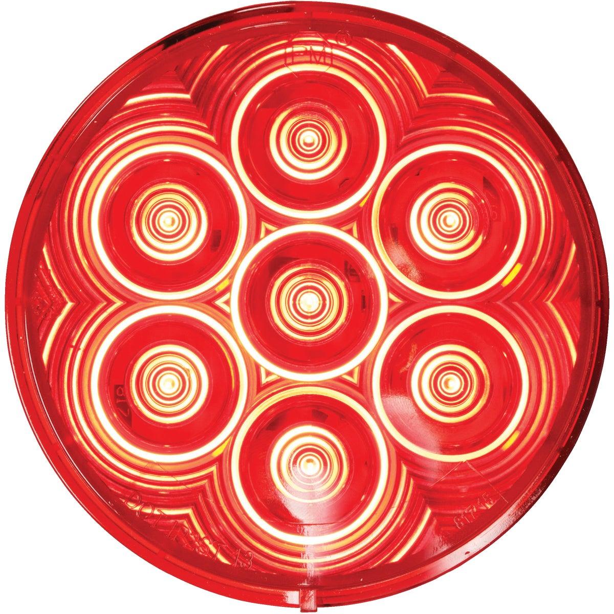LED RED RND STOP LGT KIT - V826KR-7 by Peterson Mfg Co