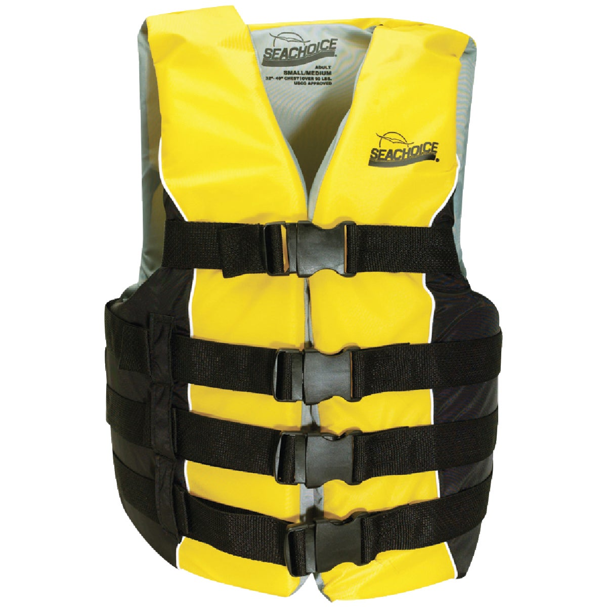 SM/MED 4 BELT SKI VEST - 86410 by Seachoice Prod
