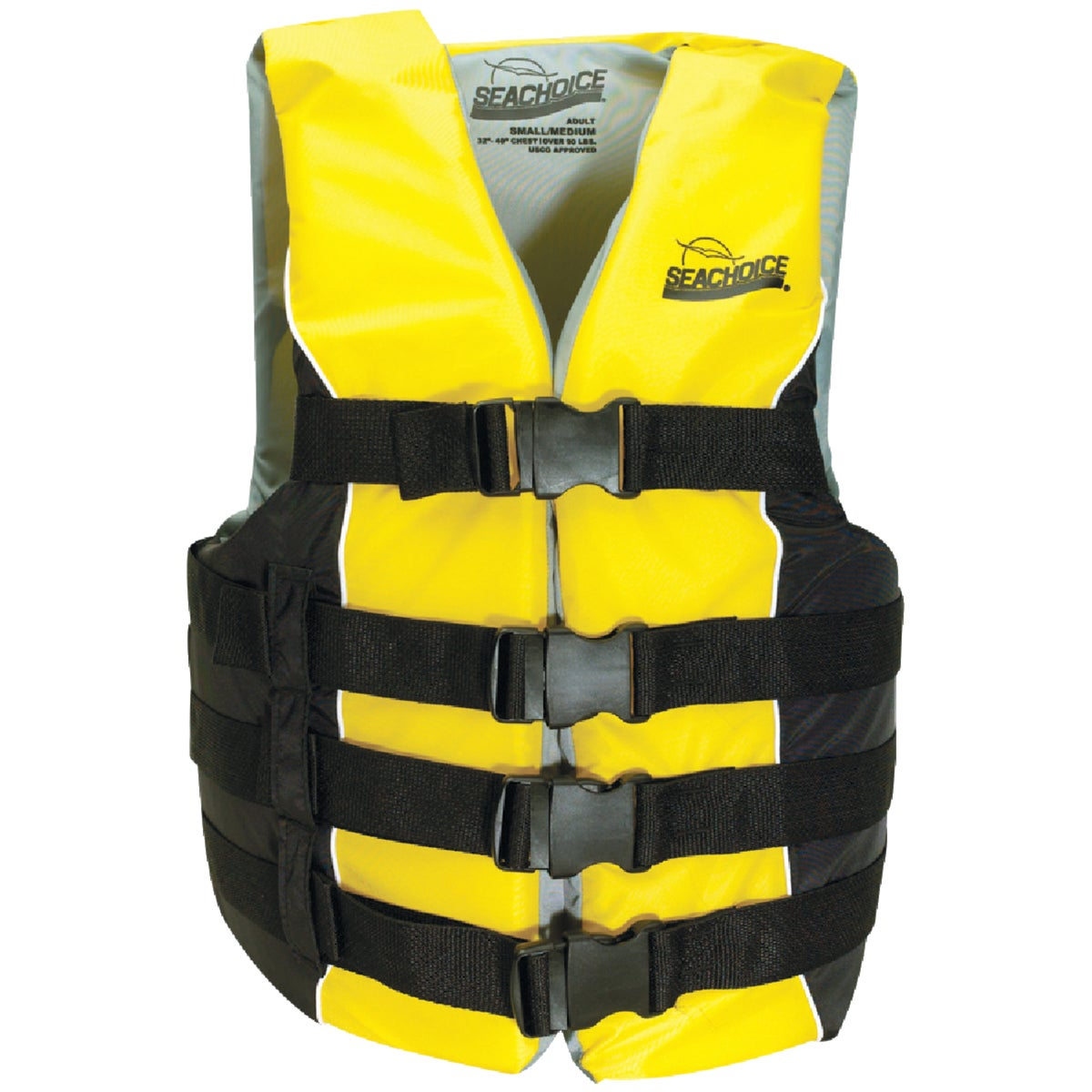 LG/XL 4 BELT SKI VEST - 86420 by Seachoice Prod