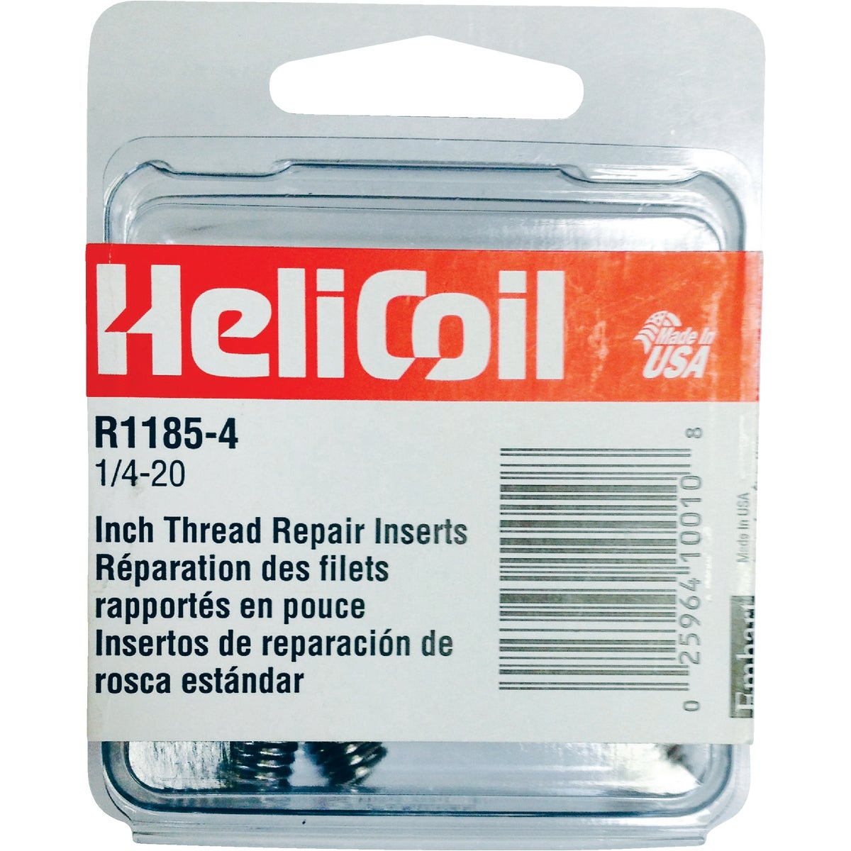 1/4-20 INSERT PACK - R1185-4 by Helicoil Div Emhart